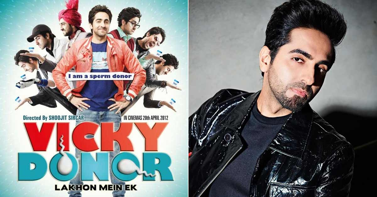 Ayushmann Khurrana Has A Real Life Connection With His Debut Film Vicky Donor's Character As A Sperm Donor