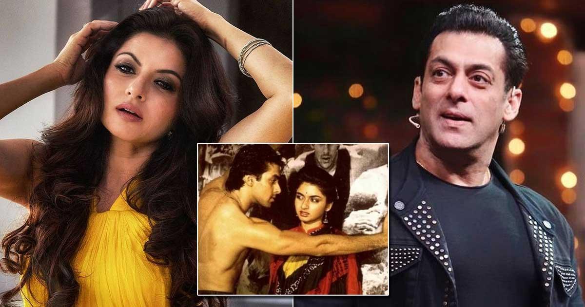 When Bhagyashree Cried Before Hugging, Kissing Salman Khan In Maine Pyar Kiya & Here's How She Shot The Sequence