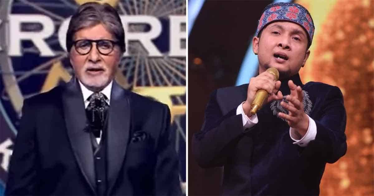 Big B's grace floors 'Indian Idol' winner Pawandeep Rajan