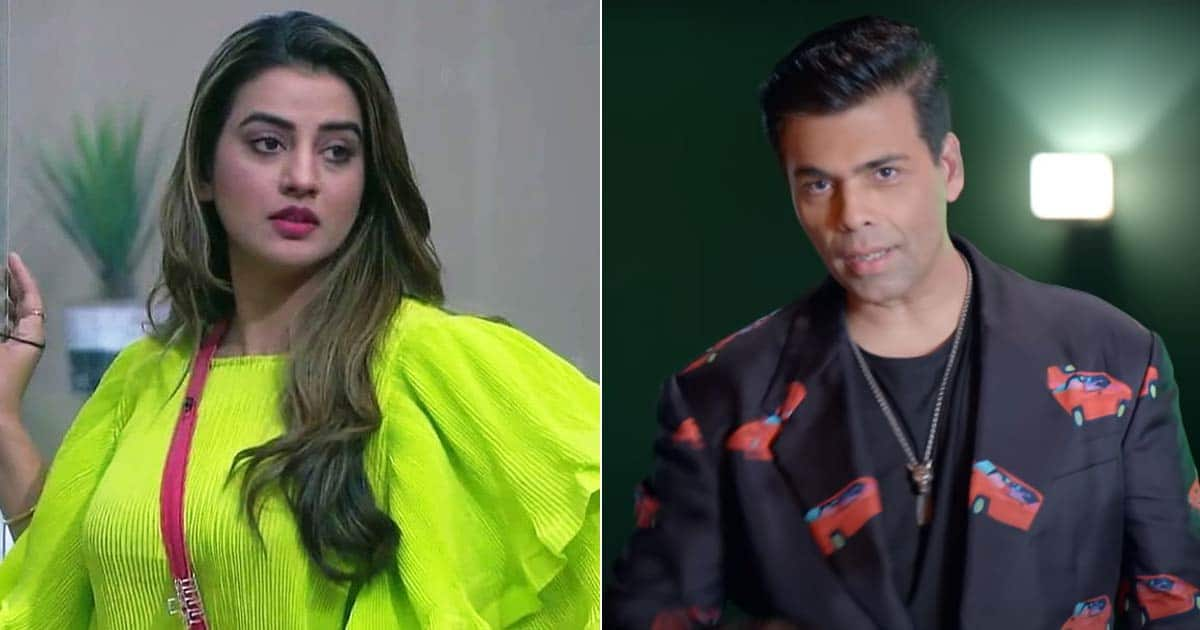 Bigg Boss OTT Eliminated Contestant Akshara Singh Makes A Big Accusation On Karan Johar & Team!
