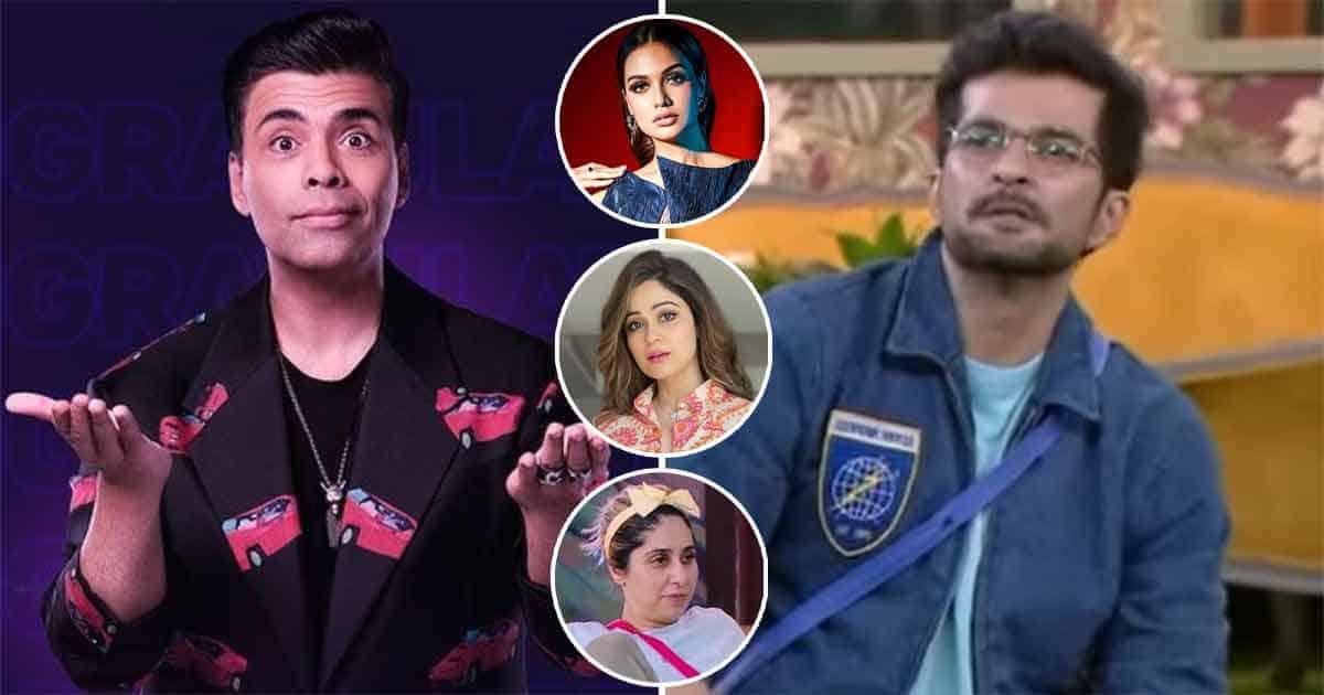 "Bigg Boss OTT: Karan Johar Slams Raqesh Bapat For Passing A 'Sexist Remark,' Says The Ladies In The House ""Can Kick Your A**"""