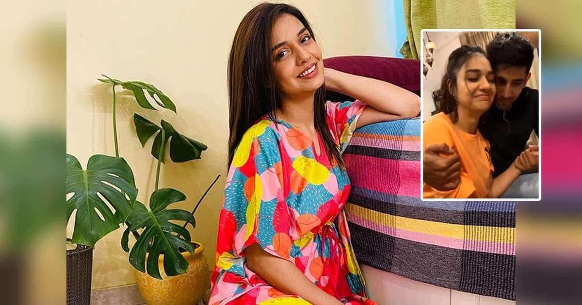 Bigg Boss OTT Winner Divya Agarwal Celebrating Her Victory With Boyfriend Varun Sood, See Video
