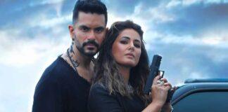"Bold and unapologetic- Hina Khan and Angad Bedi's new pics from their upcoming single, ""Main Bhi Barbad"""