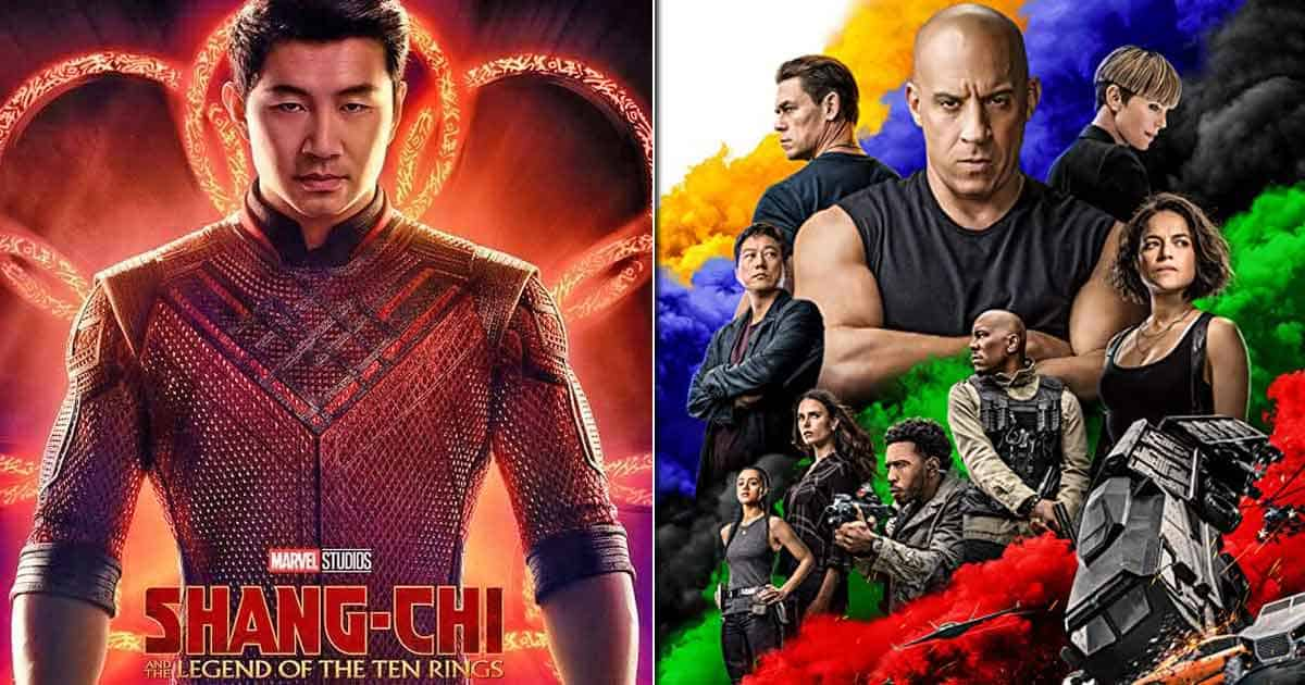 Box Office - Hollywood biggies Shang Chi And The Legend Of The Ten Rings and Fast & Furious 9 bring in ~20 crores over the weekend