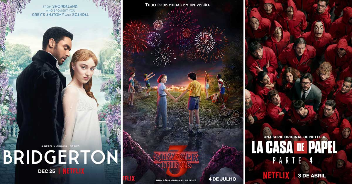Bridgerton Tops Netflix's Most-Watched Series List With 82 Million Streamers Followed By Lupin & The Witcher