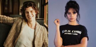 Camila Cabello welcomes Shawn Mendes to Global Citizen Fest with PDA on stage