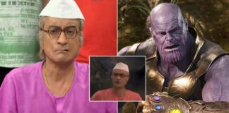 Champaklal Advising Avengers: Endgame Thanos In This Viral Meme Is Too Hilarious To Miss!