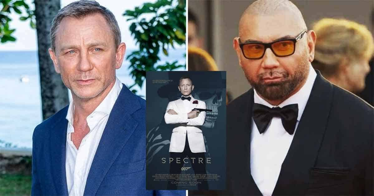 Daniel Craig Shares About The Time He Accidentally Broke Spectre Co-Star Dave Bautista's Nose While Filming A Fight Scene