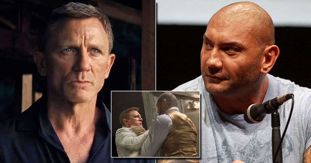 Daniel Craig Talks About Breaking Dave Bautista's Nose, The GOTG Star Makes A Correction