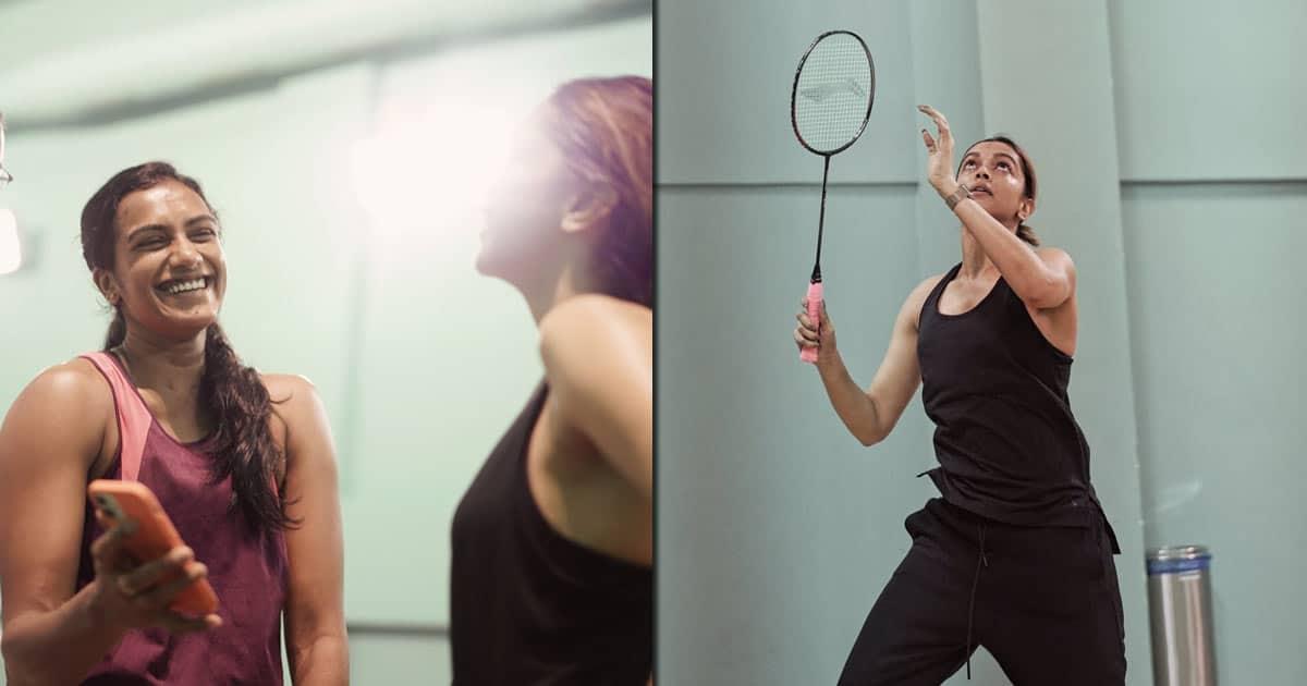 Deepika Padukone, PV Sindhu play badminton, trigger biopic talk