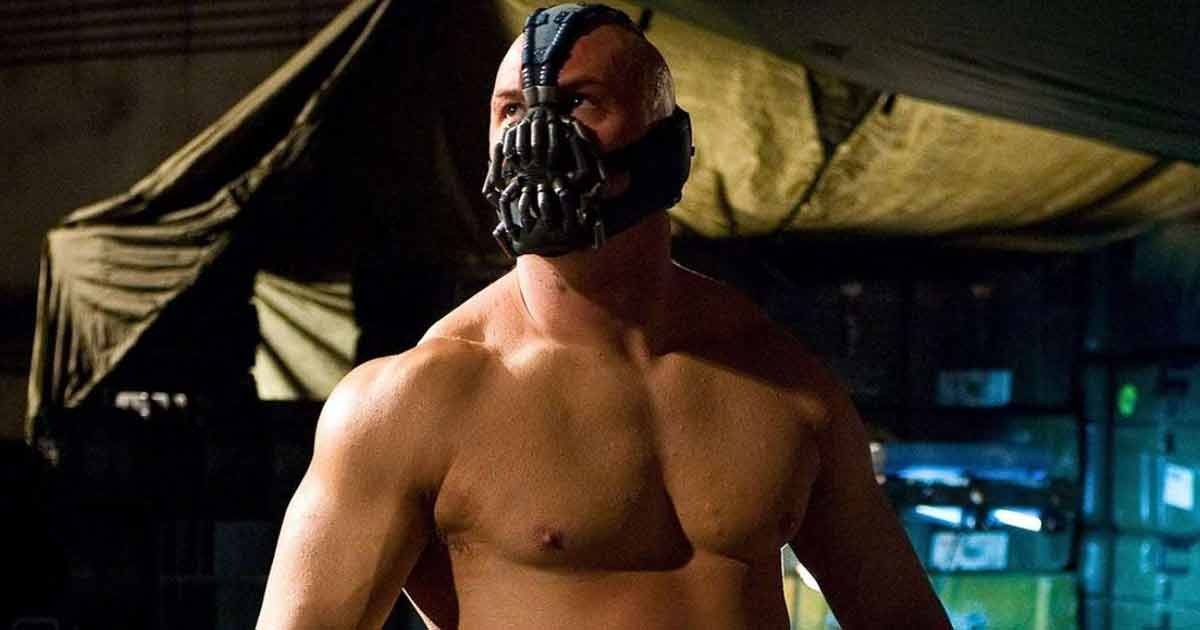 Tom Hardy Had To Apply Pancake On His Chest To Shoot The Dark Knight Rises