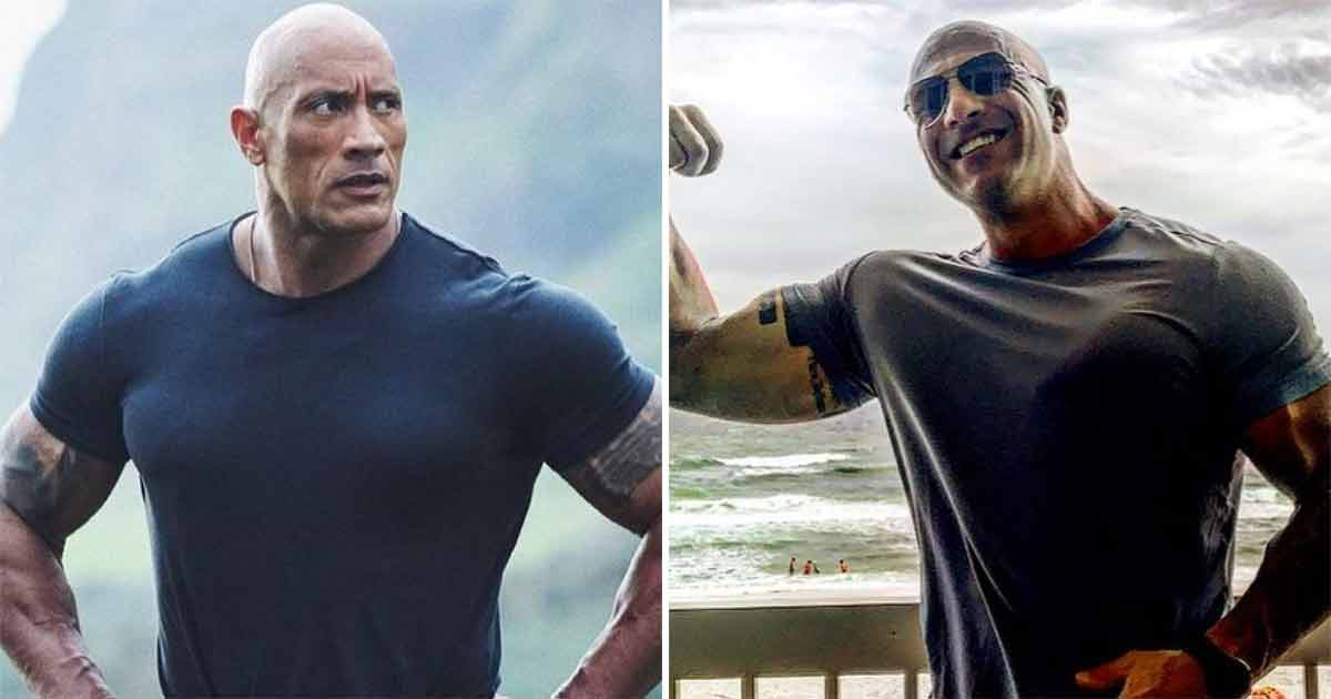 Eric Fields Doesn't Just Share A Striking Physical Similarity With Actor Dwayne Johnson, The Two Even Sound Very Much Alike