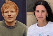 Ed Sheeran Shared That Courteney Cox Sings In The Background Vocals On His New Album