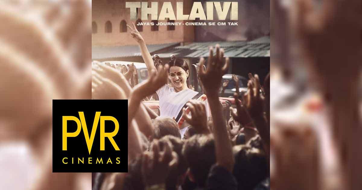 Thalaivii: Netizens On Twitter Demand PVR To Screen Kangana Ranaut Starrer In Hindi
