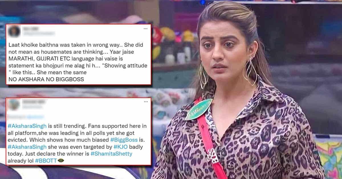 Fans Upset Over Akshara Singh And Milind Gaba's Eviction, Netizens Slam Bigg Boss OTT Makers And Karan Johar