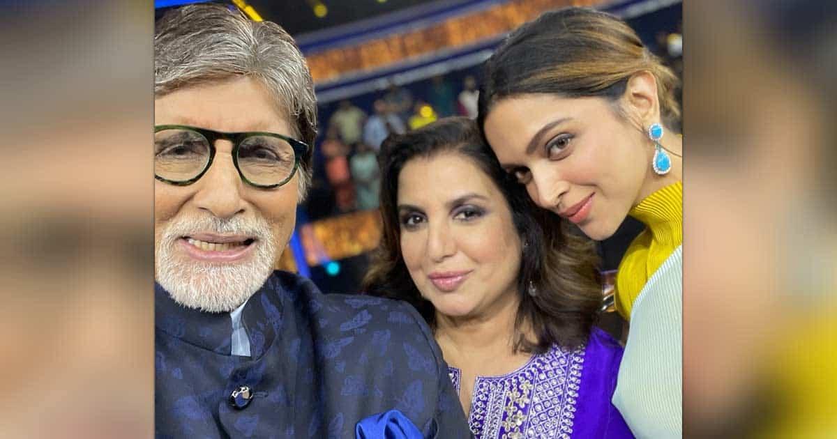 Farah Khan shares selfie with Big B, Deepika