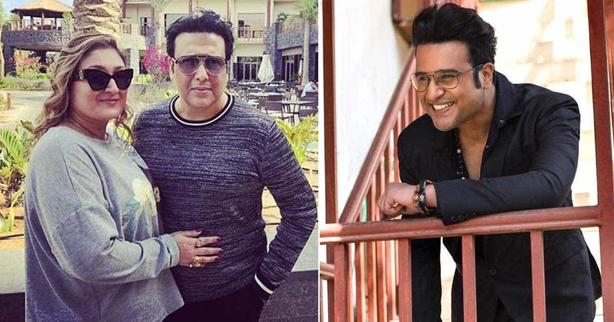 """Govinda's Wife Sunita: Is Krushna Abhishek Not Talented Enough To Give A Hit Show Without Using Mama's Name?"""""""