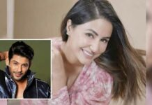 """Hina Khan Reveals Sidharth Shukla Made Her Smile After Her Father's Demise: """"Going To Share The Chat With His Family & Make Them Smile"""""""