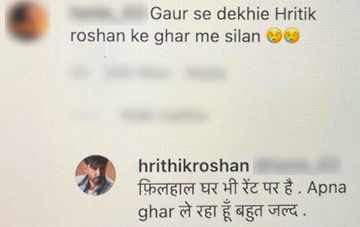 "Hrithik Roshan Fans Says ""Ameero Ke Ghar Bhi Silan Hoti Hai""; Actor Clarifies He's Living In A Rented House - Deets Inside"