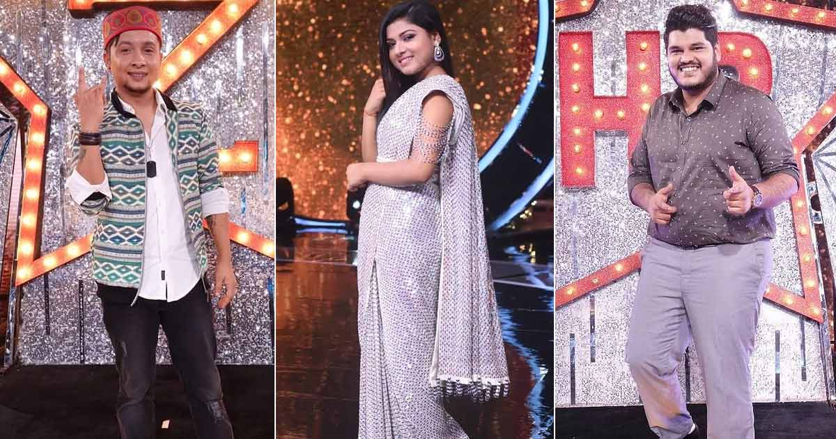 "Indian Idol 12's Pawandeep Rajan, Arunita Kanjilal & Ashish Kulkarni Record Their First Track Together; Song Director Says ""I Felt That They Are Seasoned Composers"""