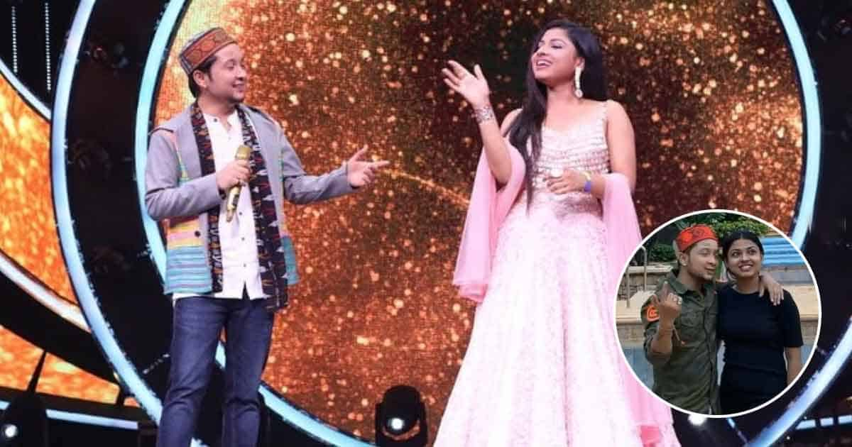 "Pawandeep Rajan & Arunita Kanjilal Share Another Romantic Video On Social Media; Fans Call The Indian Idol 12 Singers ""Cuteee Coupleee"""