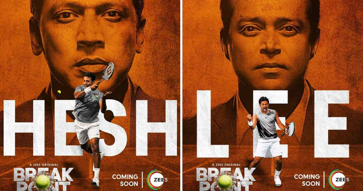 Mahesh Bhupathi, Leander Paes Led Break Point's Character Posters Out