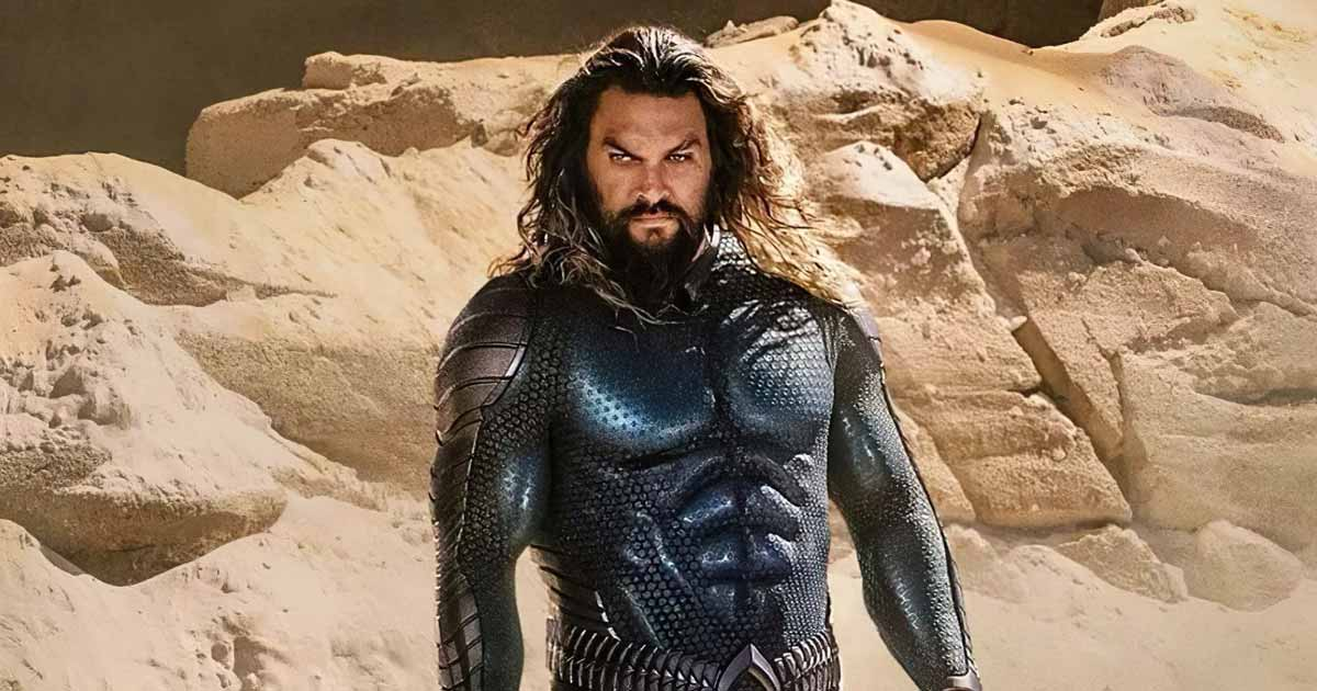 Jason Momoa Reveals First Look Of Aquaman's New Suit