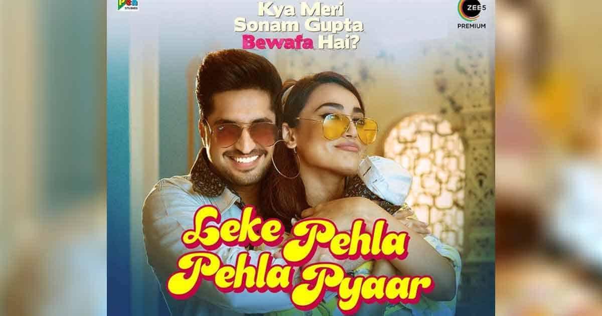 Jassie Gill And Surbhi Jyoti Features In The Remix Of Leke Pehla Pehla Pyaar