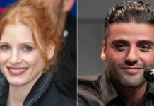 """Jessica Chastain Responds To Oscar Isaac's Viral Armpit Kiss: """"People Just Need To See People Touch"""""""