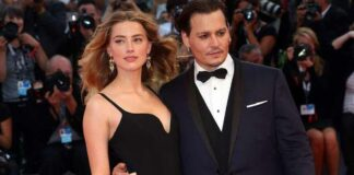 Johnny Depp Gets Interrupted By Amber Heard's Voice Moments Before Receiving An Award At San Sebastian Film Festival