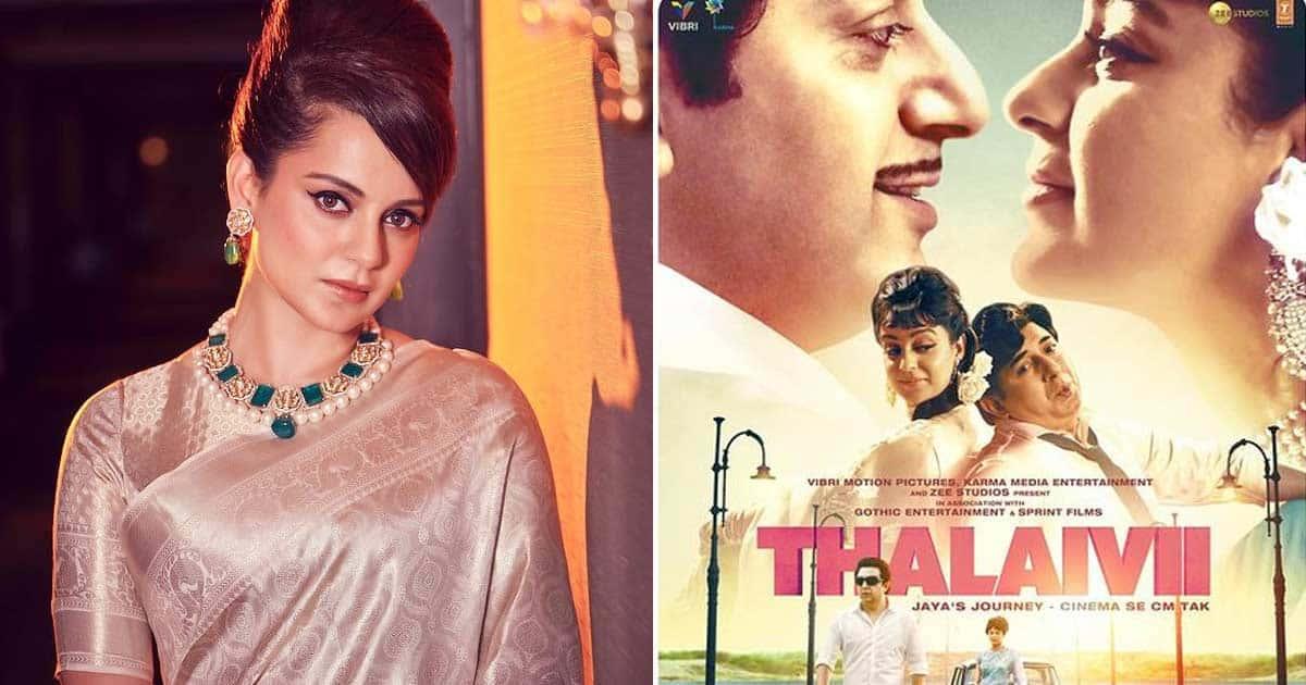Kangana happy with multiplexes screening Tamil and Telugu versions of Thalaivii
