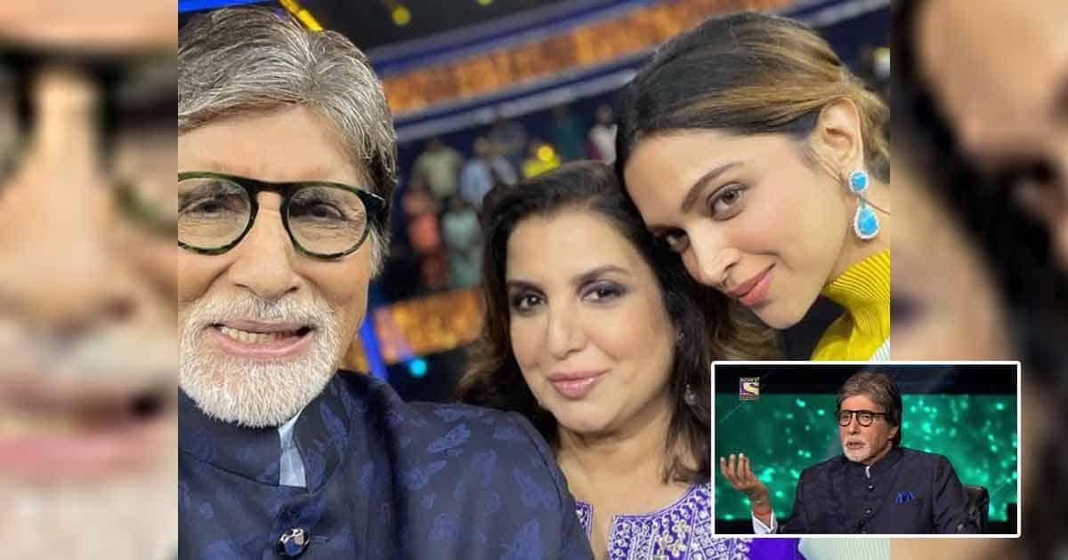 Kaun Banega Crorepati 13: Amitabh Bachchan Takes Offence & Says 'Gaadi Mangwao Mujhe Jaana Hai' When Farah Khan Calls Veg Biryani A Hoax