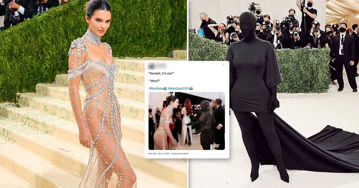 Kim Kardashian Breaks Silence On Her All-Black Met Gala Look & Reveals She Couldn't See Kendall Jenner Calling Her Name, Read On