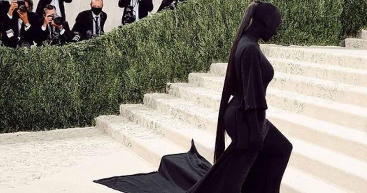 Kim Kardashian Defends Her Met Gala 2021 Look That Bewildered Many