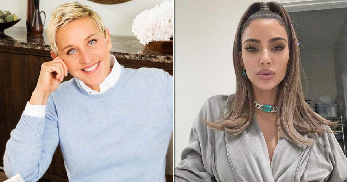 Kim Kardashian Opens Up About Her Feelings Towards Kourtney Kardashian & Travis Barker's PDA At The Ellen DeGeneres Show