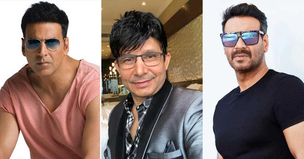 KRK Slams Akshay Kumar & Ajay Devgn