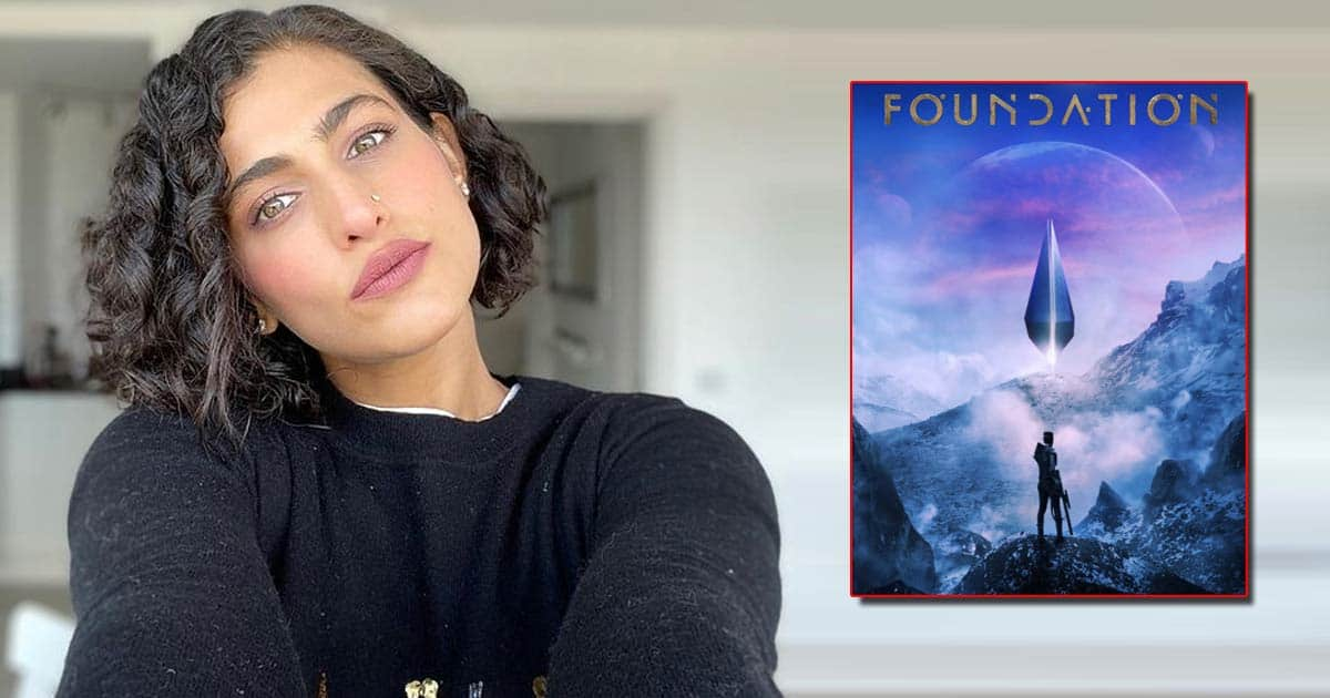 Kubbra Sait shares prosthetics video from sci-fi series 'Foundation'