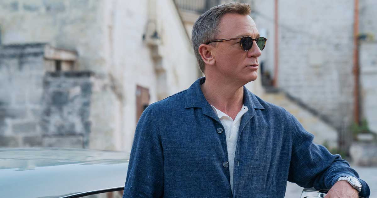 Last time as Bond: Daniel Craig on working on 'No Time To Die'