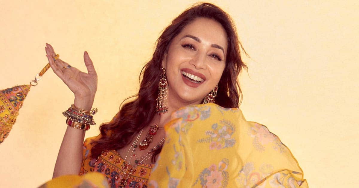 Madhuri Dixit gives free 'Garba' classes on her online dance academy
