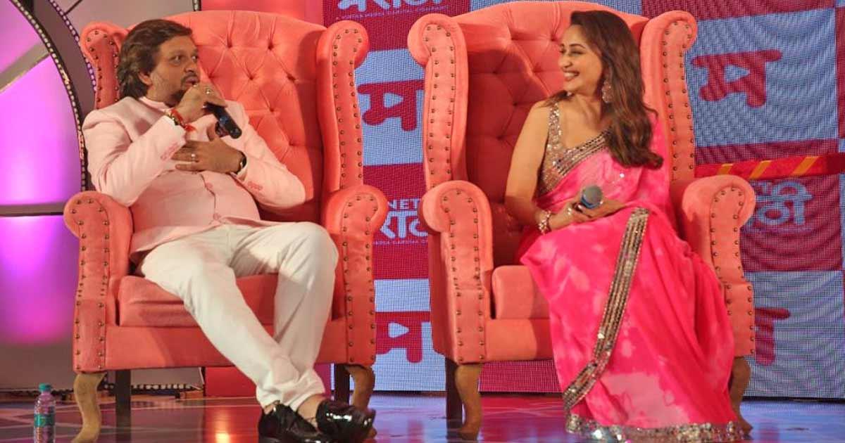 Madhuri Dixit launches 'Planet Marathi' OTT platform