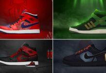 Marvel's Spider-Man, Loki, Ant-Man & Black Widow Turned Into Stunning Nike & Adidas' Sneakers