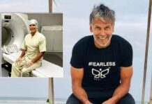 Milind Soman undergoes CT scan, says 'all normal'