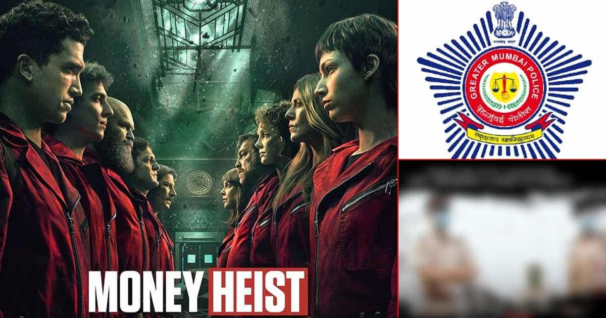 Money Heist 5: Mumbai Police Gives An Hilarious Twist To 'La Casa De Papel' & It's Winning Hearts!