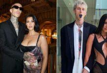 "MTV VMAs 2021: Megan Fox & Kourtney Kardashian Say, ""Get Extra Loud For Our Future Baby Daddies"" While Announcing Machine Gun Kelly, Travis Barker's Performance"