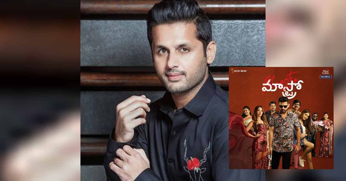 """Nithiin On Maestro: """"I Didn't Do Any Preparation For This Film..."""""""