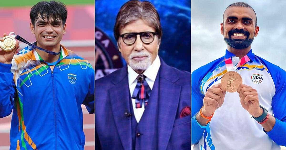 KBC 13: Olympic Gold-Medalist Neeraj Chopra & PR Sreejesh To Grace Amitabh Bachchan Hosted Show