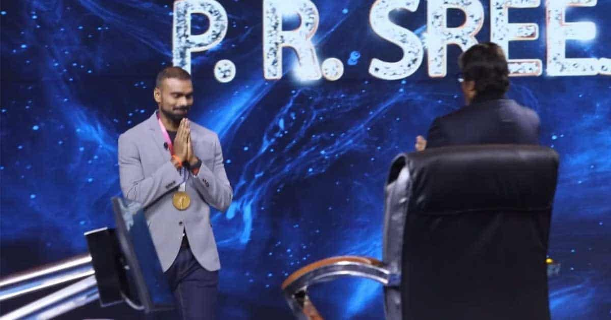 Olympic hockey hero Sreejesh opens up to Big B on Team India's medal-winning feat