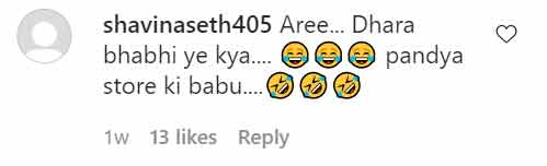 pandya store fame shiny doshi shares a pic in a tiny bikini fan comments arey dhara bhabhi ye kya002
