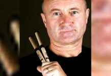 Phil Collins touring after 14 years, can barely hold a drumstick