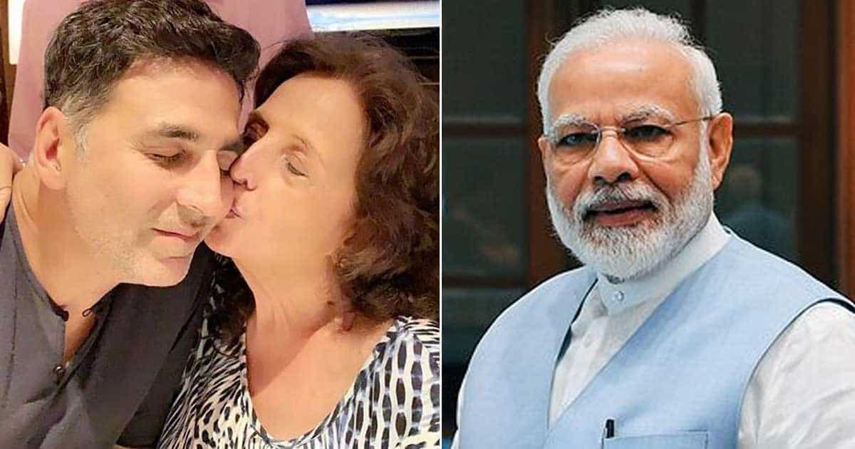 PM Modi Offers His Condolences To Akshay Kumar On Mother's Death